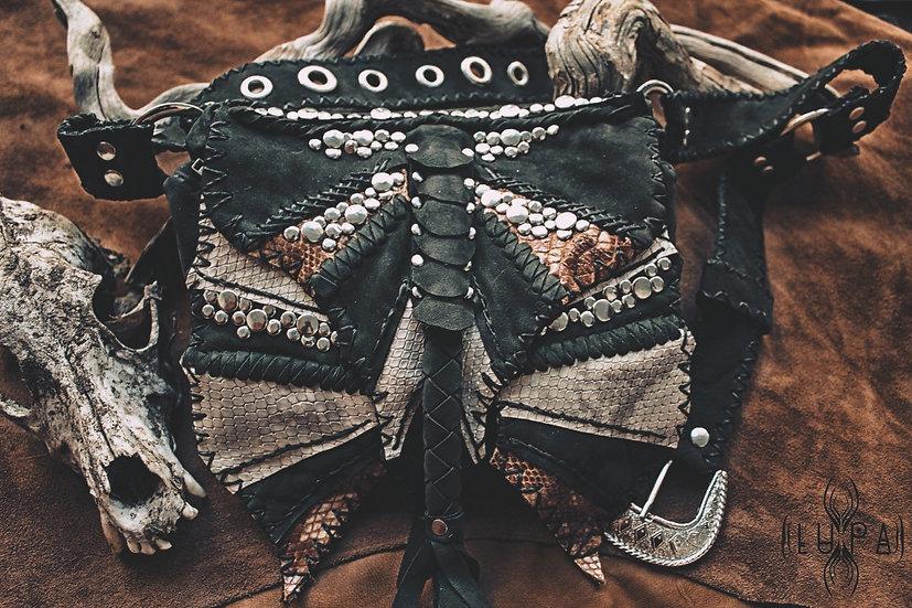 Soft Suede Leather Beltbag
