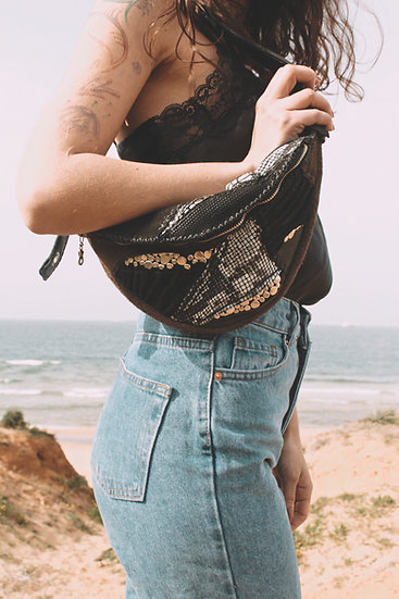 Beltbag with Layering Leather