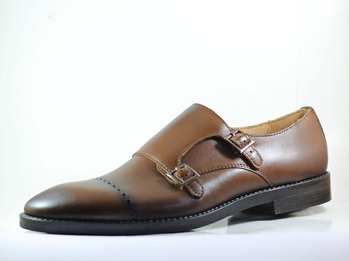 Double Monk Saddle Brown