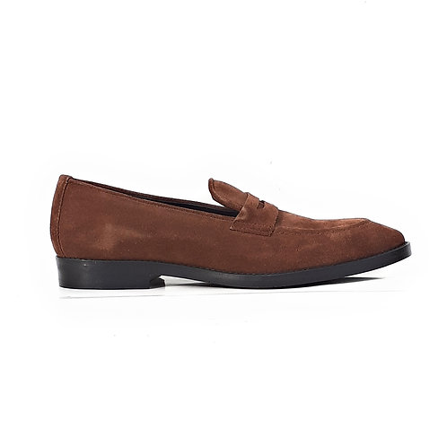 Joseph Penny Loafers Chestnut Brown
