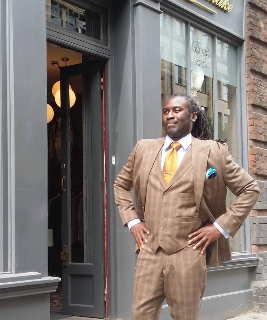 Tailor Tony Cox