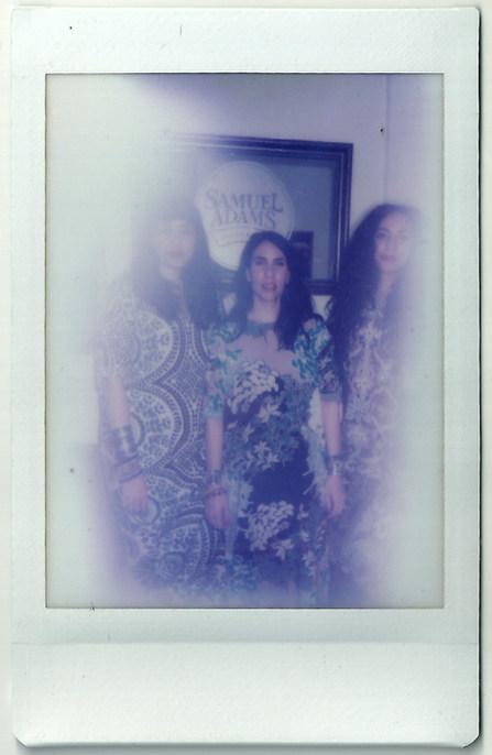 Backstage Polaroid