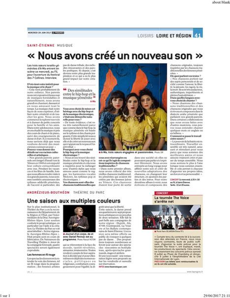 A-WA | Le Progrès Newspaper