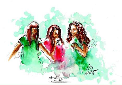 Live illustration