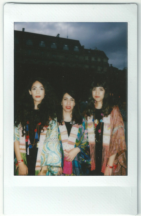 Backstage Polaroid, Fnac Festival, Paris