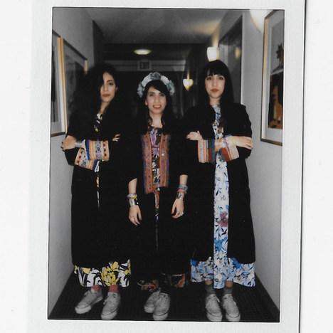 Backstage Polaroid, Skirball Cultural Center, LA