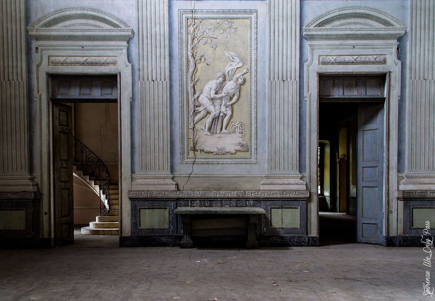 Villa abandonnée en Italie