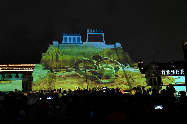 Aguila culebra front  -  Maizz Visual -Memoria-Luminosa
