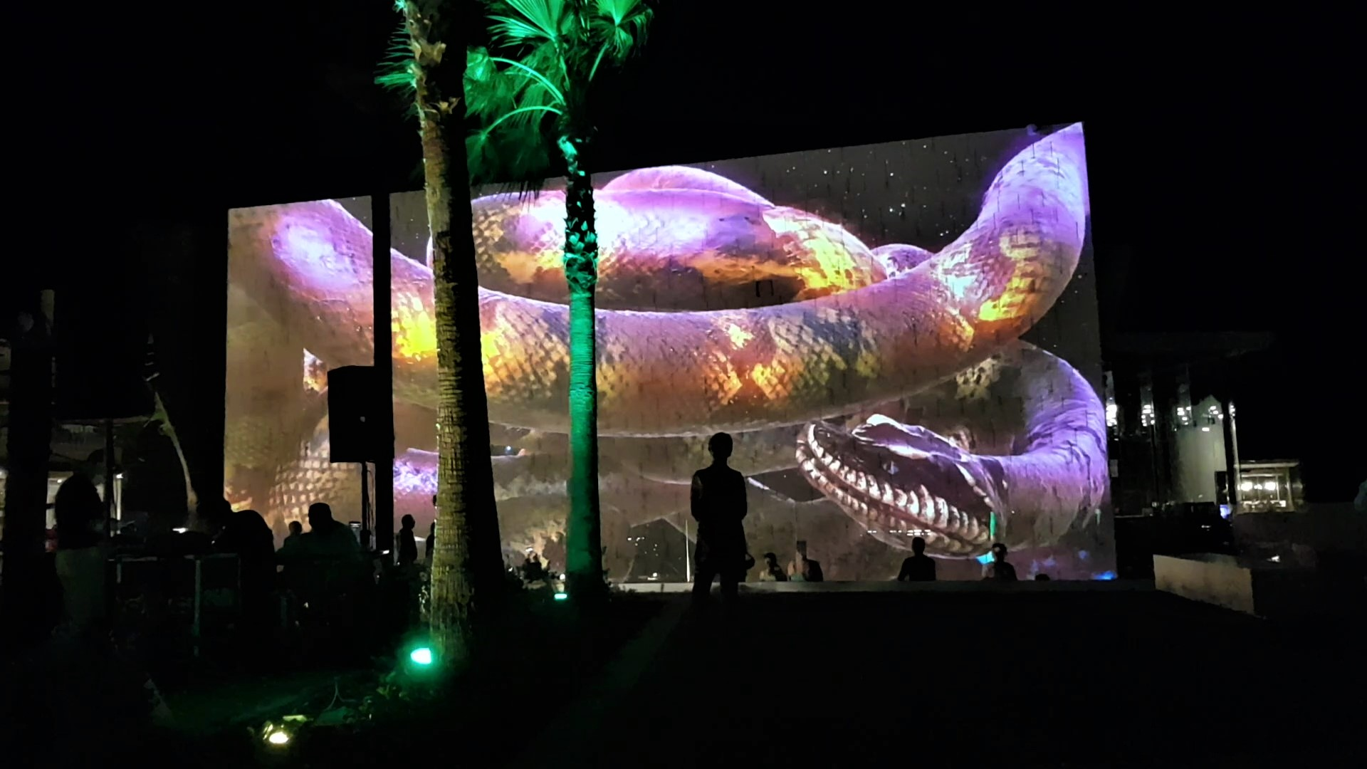 Palladium Costa Mujeres - Maya mapping 3D
