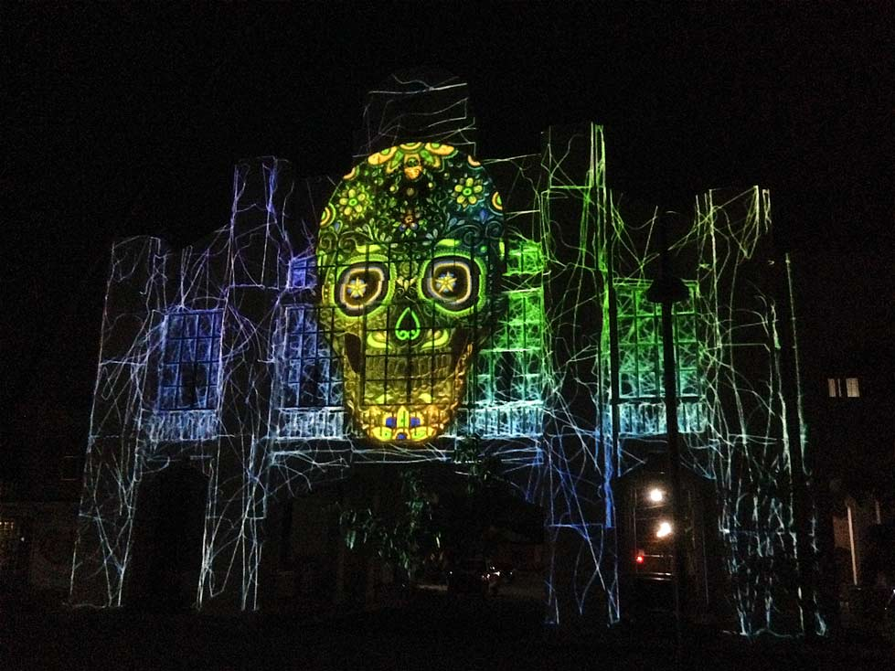 Video mapping Ixtepec