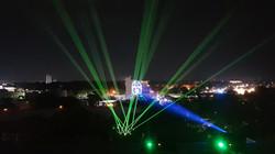 TV Azteca Tabasco - Laser show