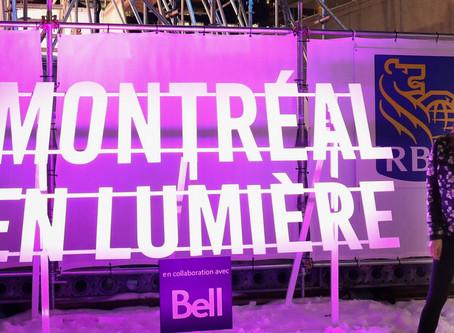 Light Festival Montréal en Lumière