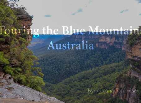 Touring the Blue Mountains Australia