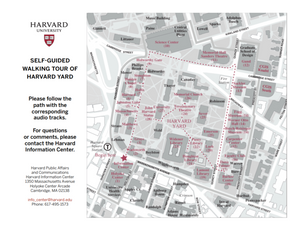 Harvard Self Guided Walking Tour