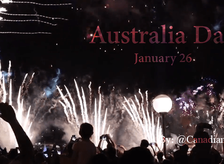 Experience Australia Day January 26th