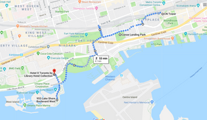 Best Mapped out Spots to see the CN Tower