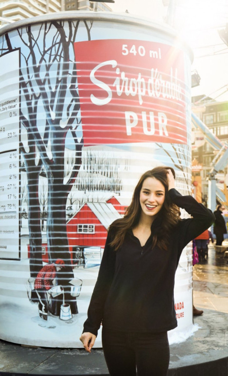 travel canada fashion blogger bell rbc maple syrup winter