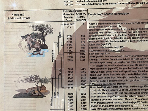 INTERACTIVE DISCIPLE SCROLL - Tetra Scroll Bible Timeline of World History