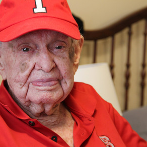 Mills Home alumnus remains active at 104  years old