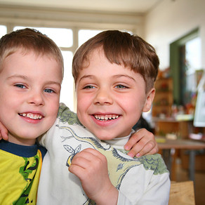 The brothers' story was transformed from a tale of sadness to one of joy!