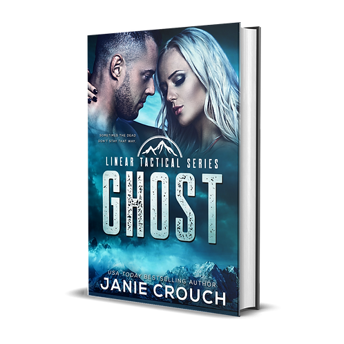 GHOST HARDBACK - signed copy