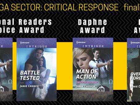 Omega Sector: Critical Response Series- Big Noms in Romance Award Season