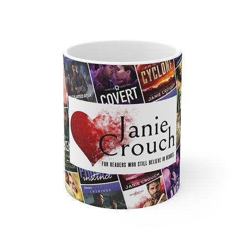 Janie Crouch Covers Mug