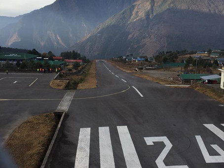 Everest Base Camp Trek (Day 1 - Flight to Lukla and hike to Phakding)