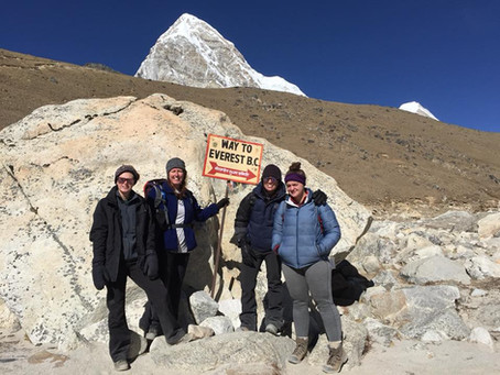 Everest Base Camp Trek (Day 8 - Lobuche to Base Camp)