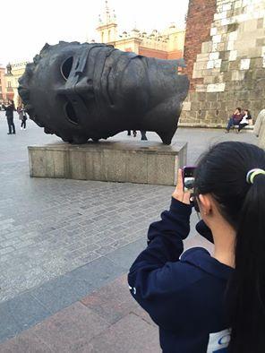 """""""The Head"""" Krakow, Poland"""