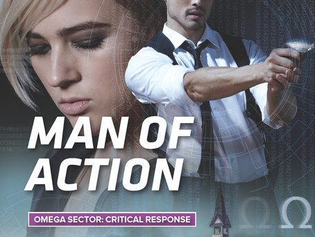 Release day for MAN OF ACTION!