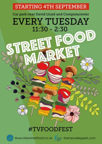 Savills Street Food Market Poster