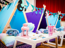 Mermaid Theme Sleepover Parties Greater Manchester, Cheshire andDerbyshire
