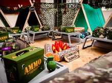 Army Camo Sleepover Parties Greater Manchester, Cheshire andDerbyshire