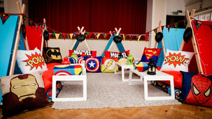 Superheroes Theme Sleepover Parties Greater Manchester, Cheshire andDerbyshire
