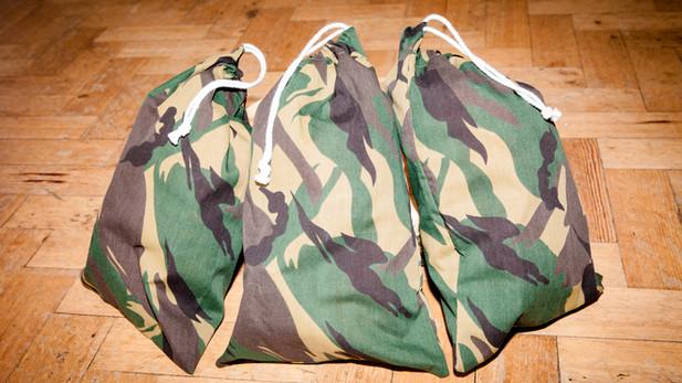 Army Camo Theme Sleepover Details