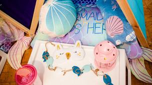 Mermaid Theme Sleepover Details