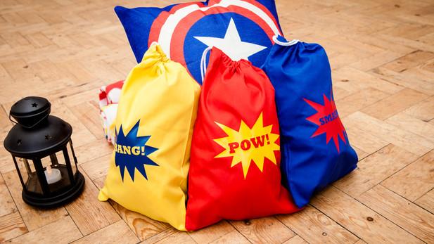 Superheroes Theme Sleepover Details