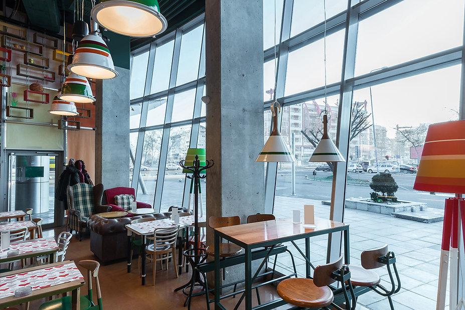 餐廳外場裝潢,餐廳,餐廳客席區,客座區