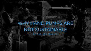 Why hand pumps are not sustainable