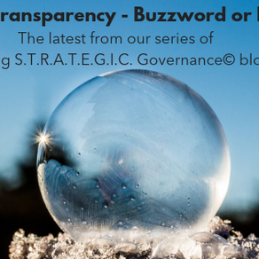 Transparency in Governance - Buzzword or Byword?
