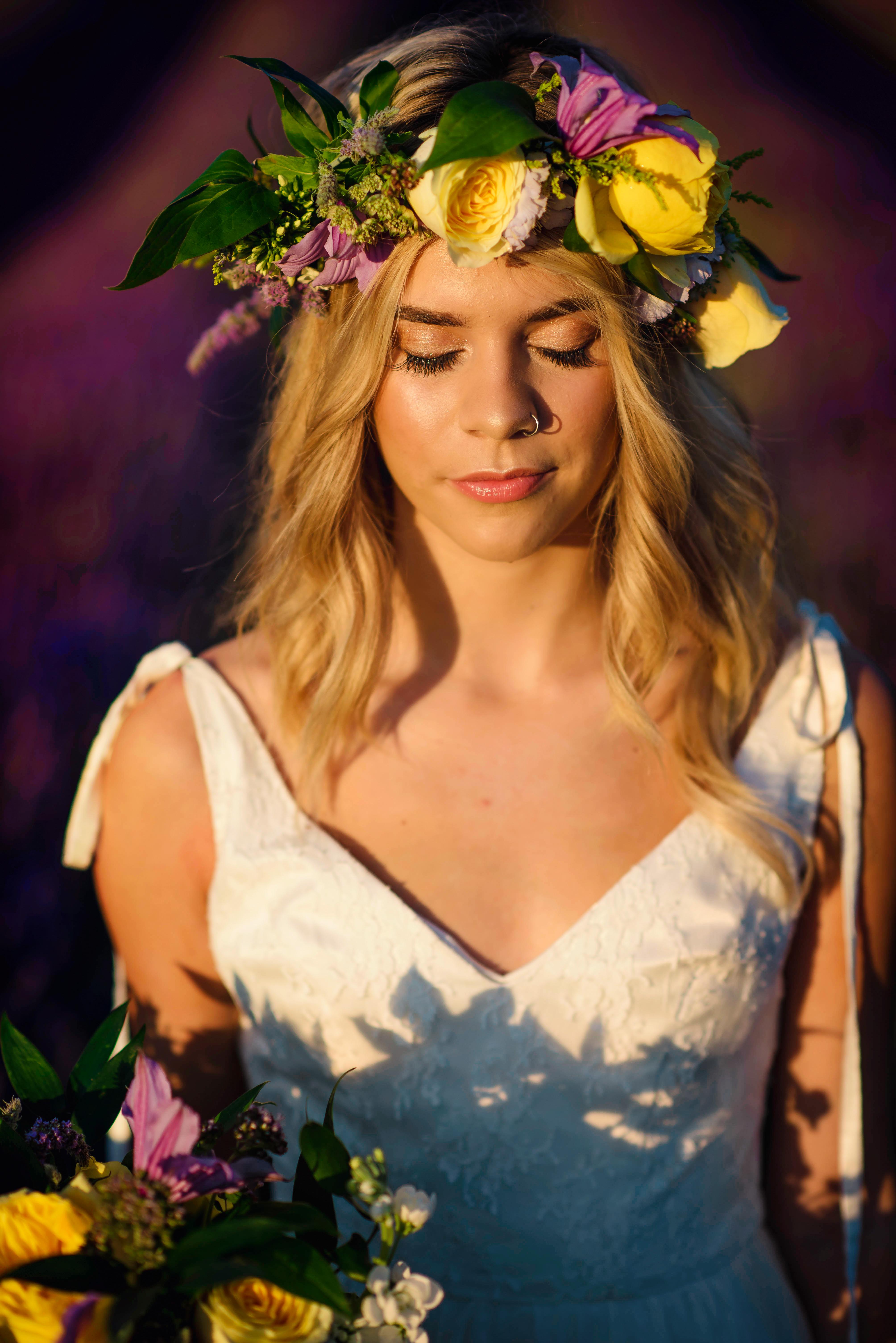 Lordington Lavender Bridal Shoot-13