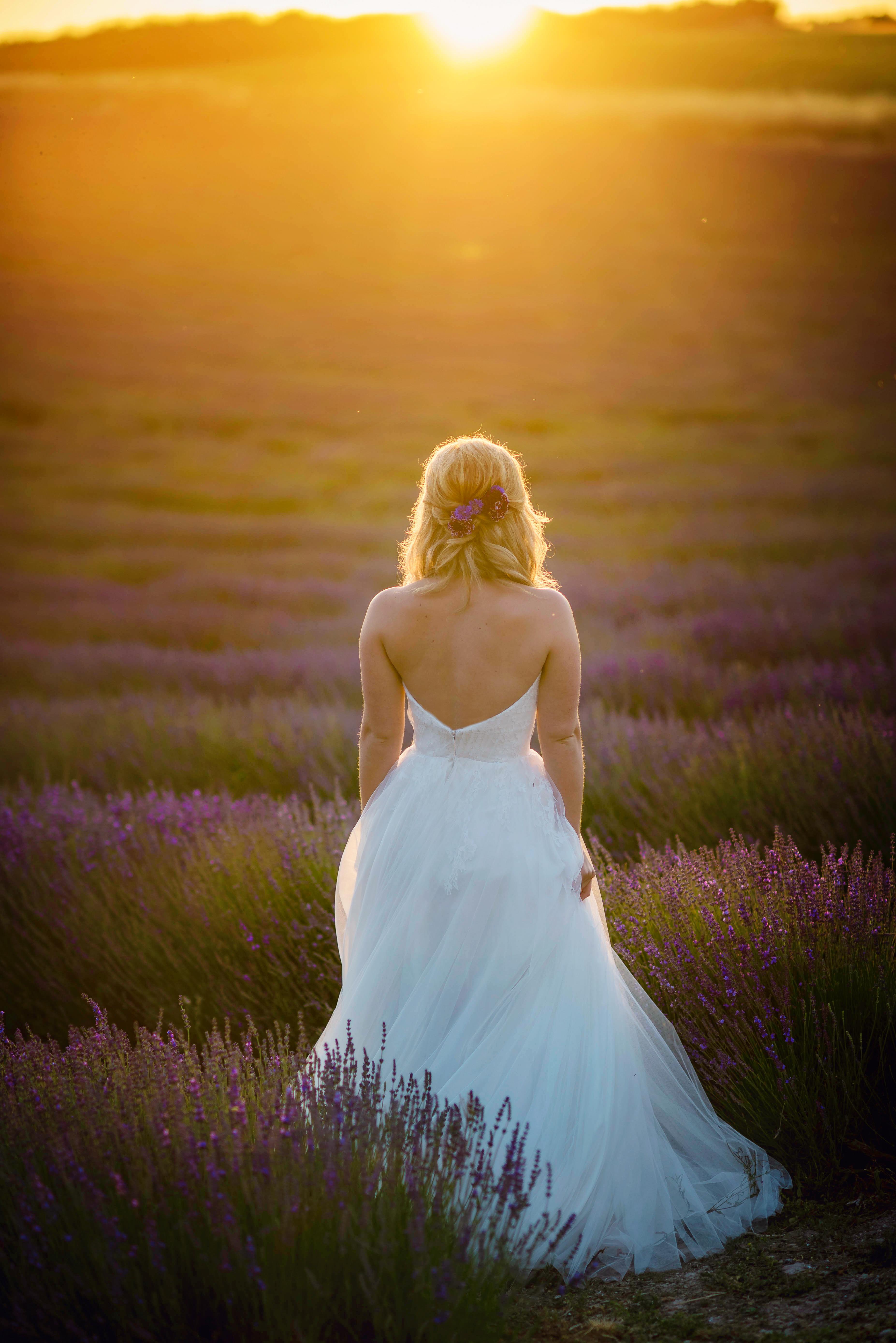 Lordington Lavender Bridal Shoot-29