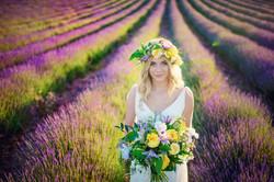 Lordington Lavender Bridal Shoot-11