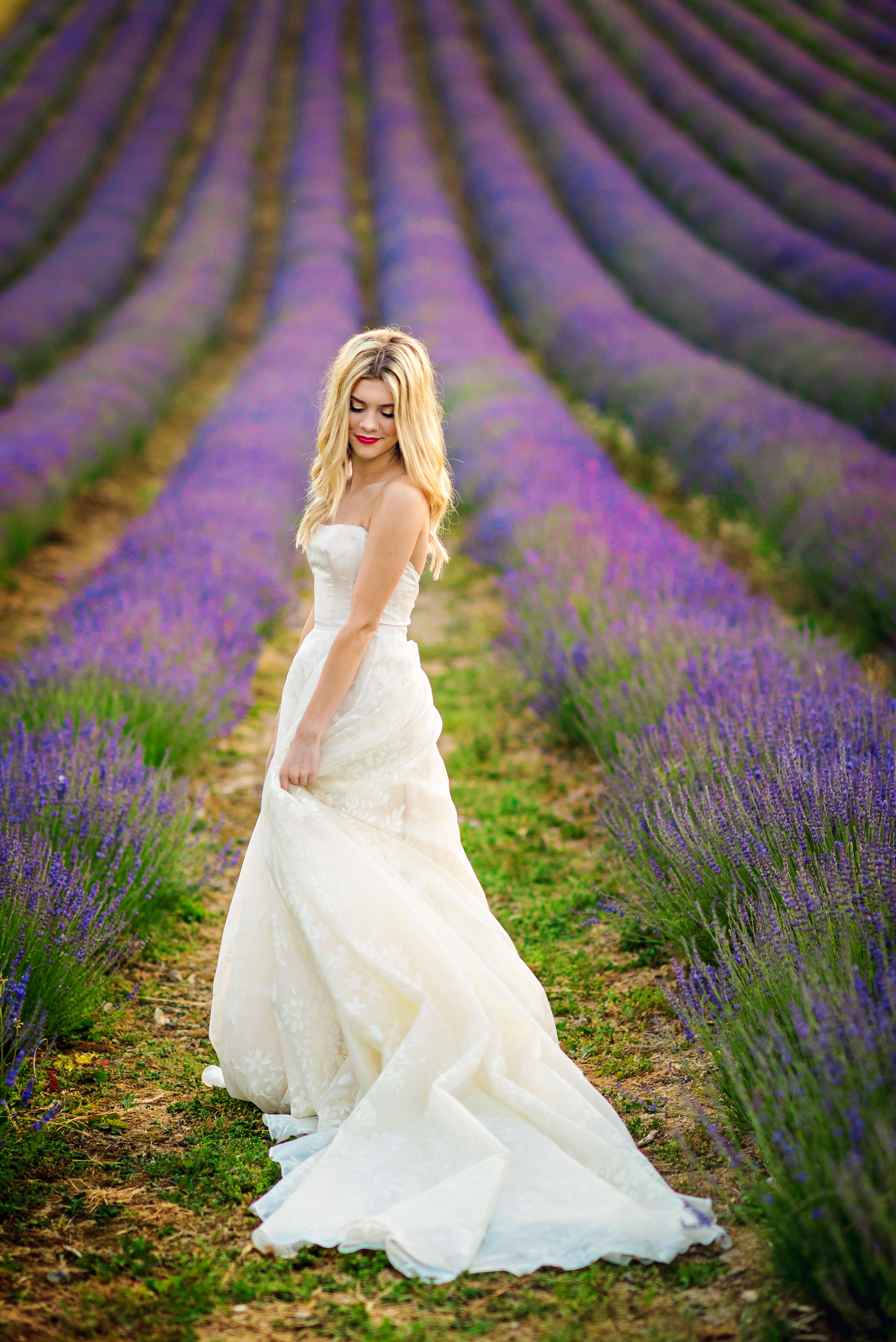 Lordington Lavender Bridal Shoot-41