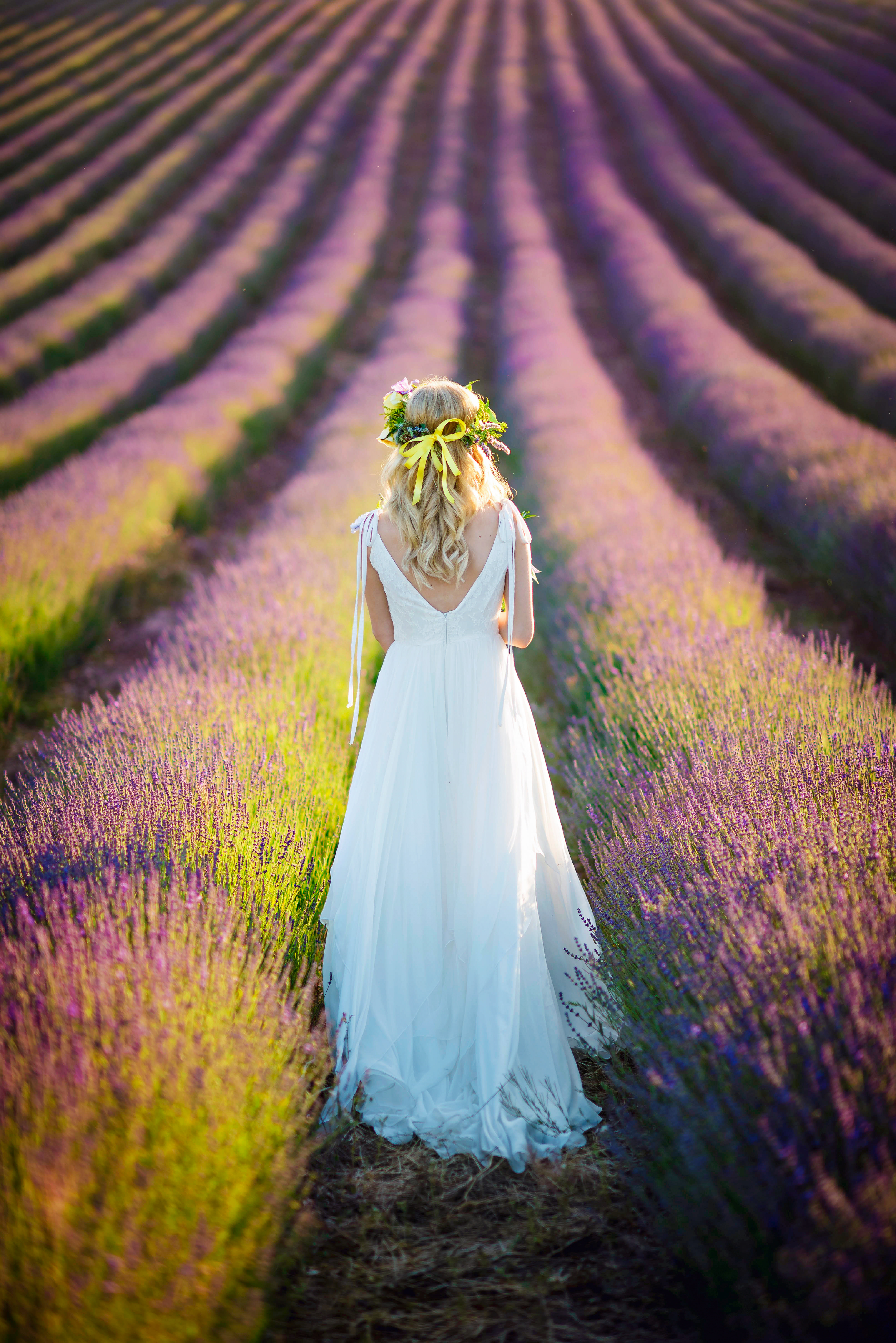 Lordington Lavender Bridal Shoot-4