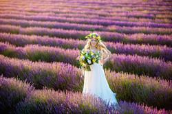 Lordington Lavender Bridal Shoot-18