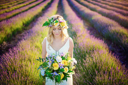 Lordington Lavender Bridal Shoot-10