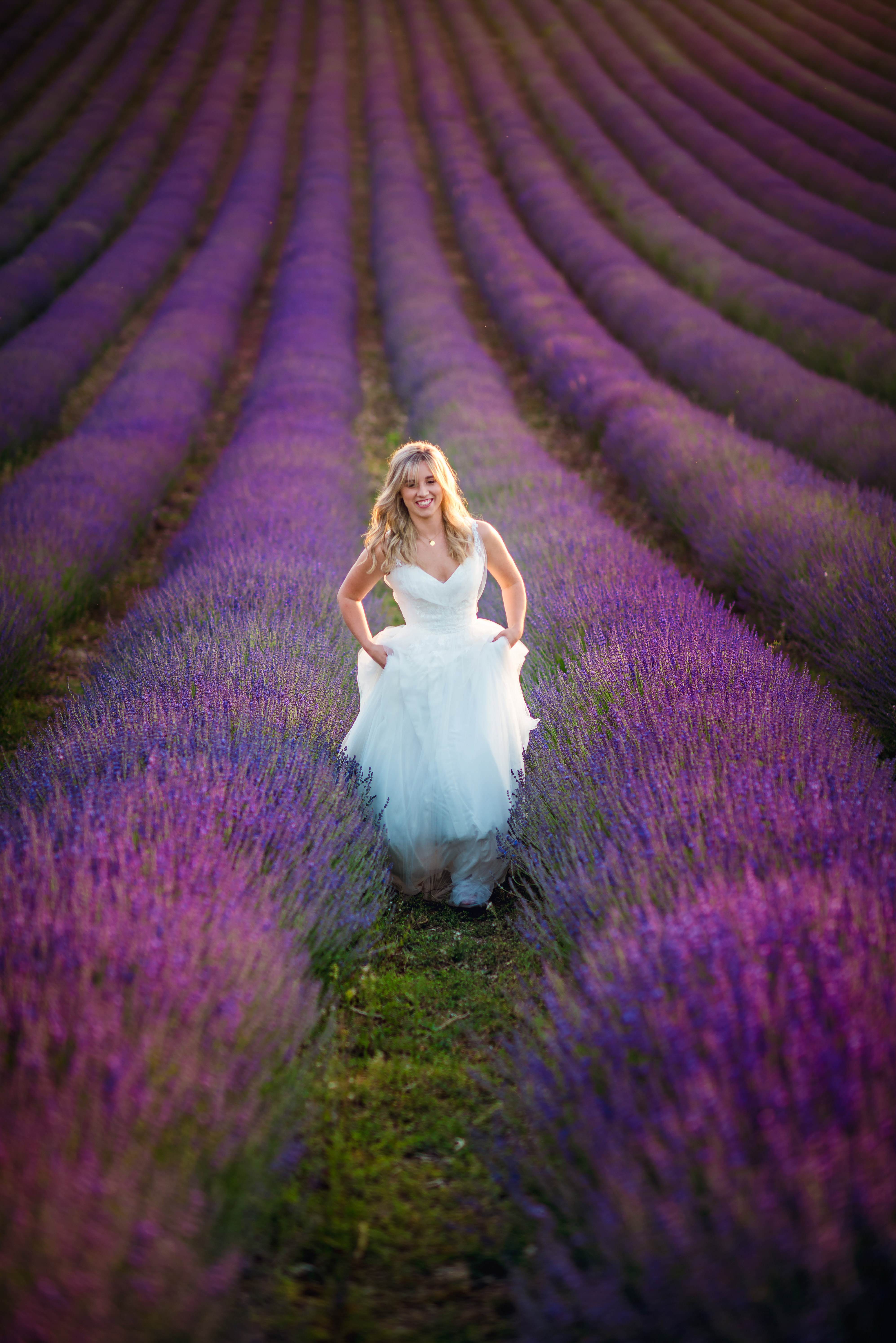 Lordington Lavender Bridal Shoot-25