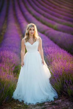 Lordington Lavender Bridal Shoot-27